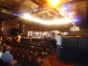 Bleachereportboxing's ringside view.