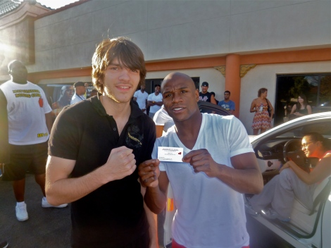 """Money Mayweather"" and I"