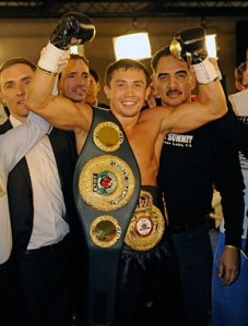 "Current WBA Middleweight world title holder, Gennady ""GGG"" Golovkin (24-0, 21 KOs), has an upcoming bout on the HBO televised under card of Mikey Garcia and Orlando Salido's Featherweight Championship bout taking place on January 19th.  Golovkin is believed to be by many within the sport to be one of Boxing's foremost emerging stars."
