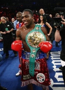 Adiren Broner (26-0, 22 KOs).  Retained his world championship and unblemished record.  As he continues to climb higher and higher within the sport.