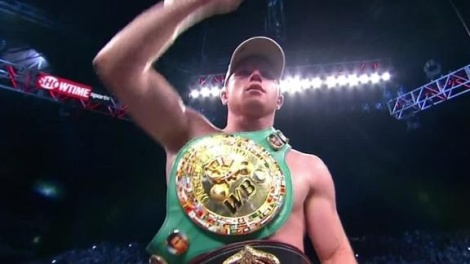 "Saul ""Canelo"" Alvarez now has two world championships to carry around.  Alvarez added the WBA super welterweight title to the WBC title he has already held in his victory over Austin Trout."