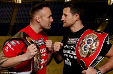 IBF super middleweight world champion, Carl Froch, is BRB's pick to even the score with WBA super middleweight world champion, Mikkel Kessler, Saturday night live on HBO.