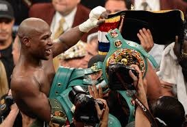 Floyd Mayweather recaptured the universally recognized welterweight championship of the world in beating Robert Guerrero.  Mayweather, 36, is now a two time champion in the welterweight division.
