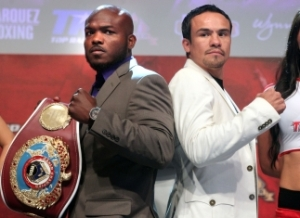 Undefeated WBO welterweight champion of the world, Timothy Bradley, will be looking to pull off the upset against one of the world's best, Juan Manuel Marquez.  BRB firmly believes Marquez will be the fighter leaving Las Vegas with the championship of the world.