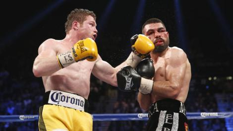 "Last Saturday night in Las Vegas, Saul ""Canelo"" Alvarez took his first step in returning to prominence in the super welterweight division.  Alvarez dominated rugged veteran Alfredo Angulo through much of ten rounds en route to a TKO victory."