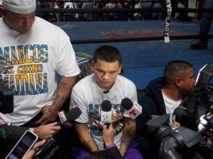 Marcos Maidana appears to be clam and ready for his May 3rd welterweight unification bout with Floyd Mayweather.