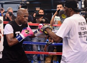 The world's no.1 ranked fighter, pound for pound, Floyd Mayweather (45-0, 26 KOs), is preparing to face Marcos Maidana (35-3, 31 KOs), on May 3rd in Las Vegas.